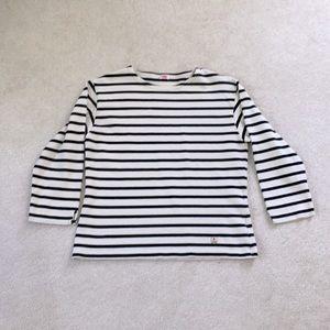 Armor Lux French sailor breton stripe shirt